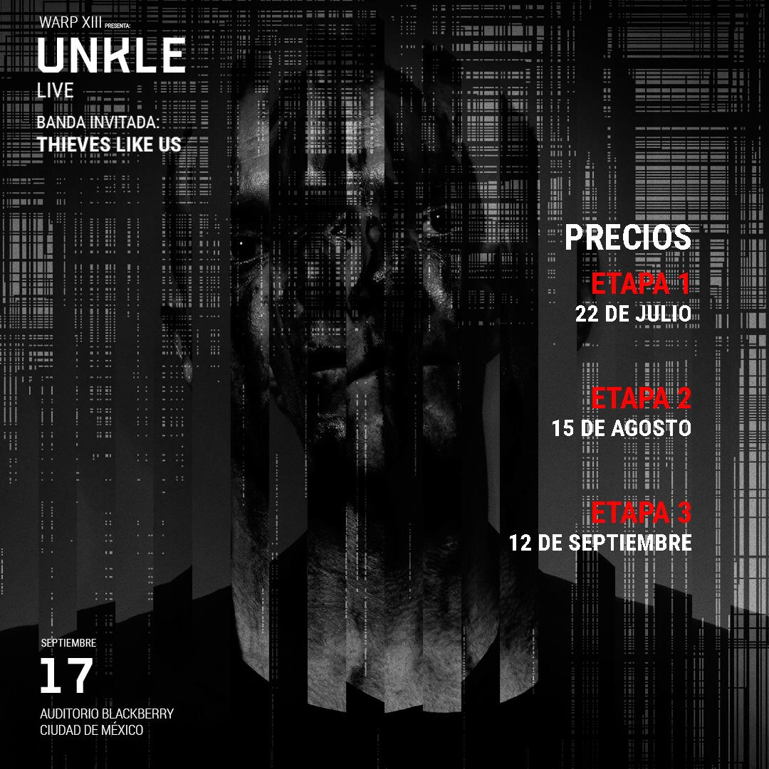 UNKLE en el Auditorio BlackBerry